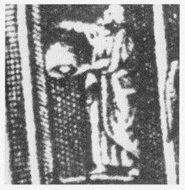 Straßburger Skulptur auf Stich des 17. Jahrhunderts. Aus Pinskus 2009.