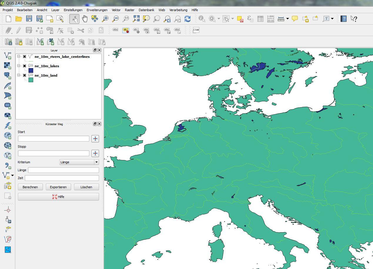 Einfache Karten Mit Qgis Erstellen Quadrivium